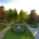 Celle - Luftbild - Der Französischer Garten