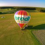 Heißluftballon Richtung Celle