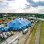 Circus Krone in Celle - Luftaufnahme