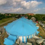 Circus Krone in Celle - Luftbild 2015