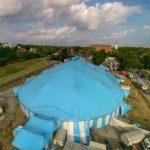 Circus Krone in Celle - Luftbild 2015