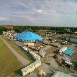 Circus Krone in Celle - Luftbild