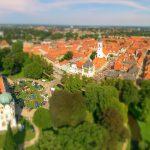 Oldtimer und Fachwerk 2015 Luftaufnahme