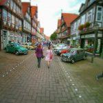 Oldtimer und Fachwerk in Celle