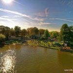 Ruderregatta in Celle 2015 - Luftaufnahme Ziegeninsel