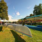 Ruderregatta in Celle 2015 - Ruderboot