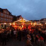 Karussel auf dem Weihnachtsmarkt Celle