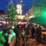 Wäldchen auf dem Weihnachtsmarkt Celle