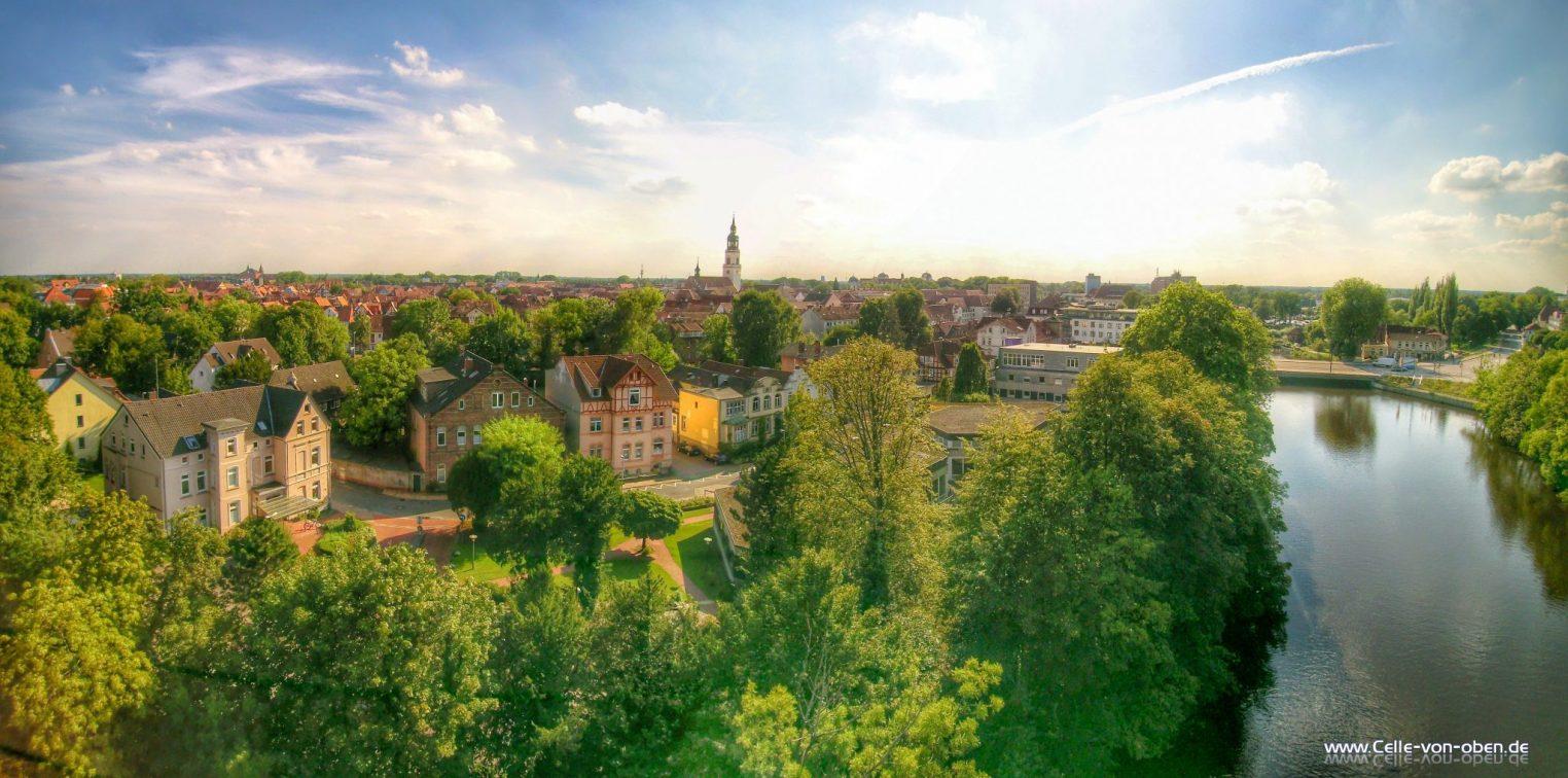 Allerbrücke und Stadtkirche