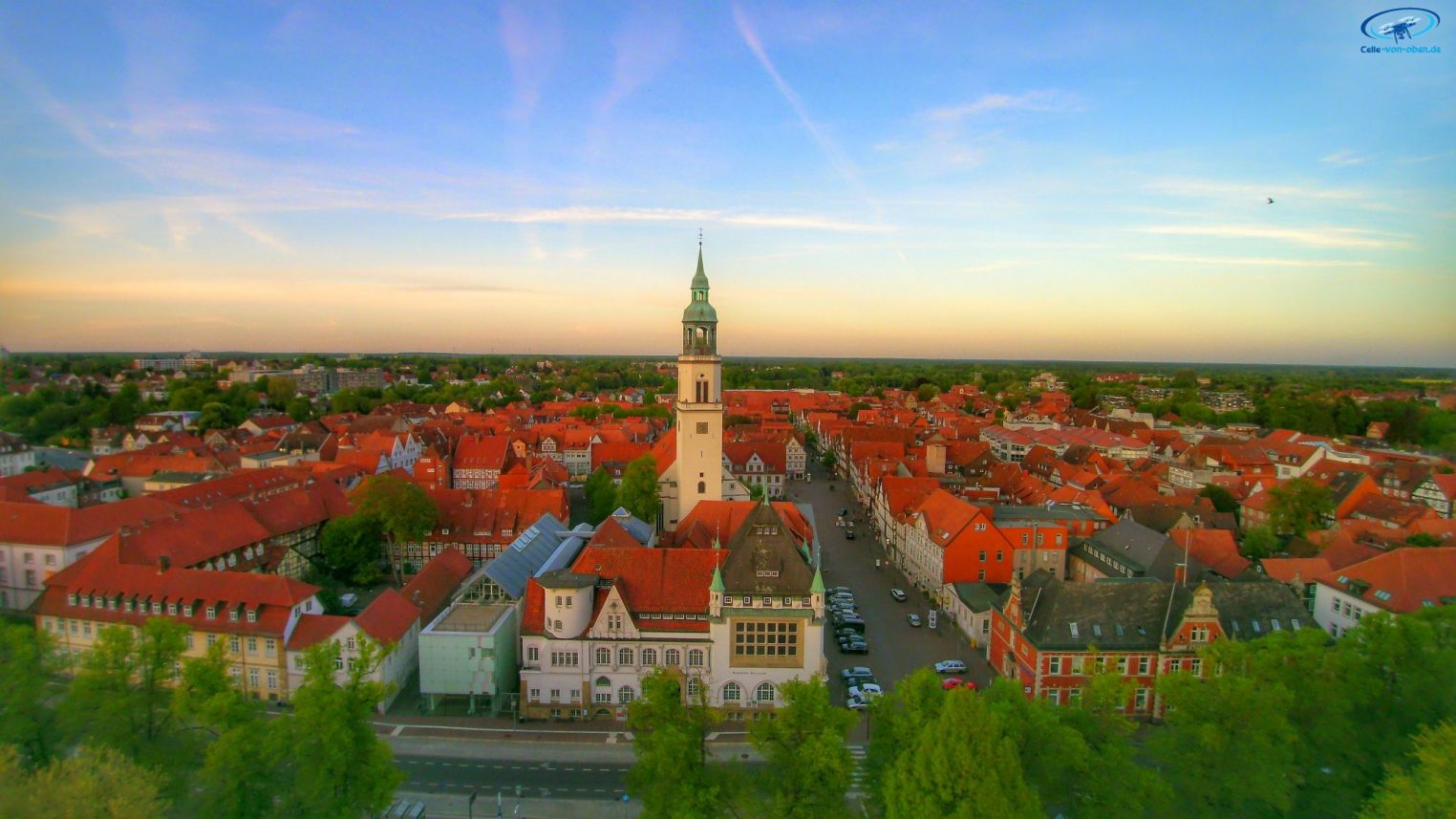 Celle Stadtkirche am Abend