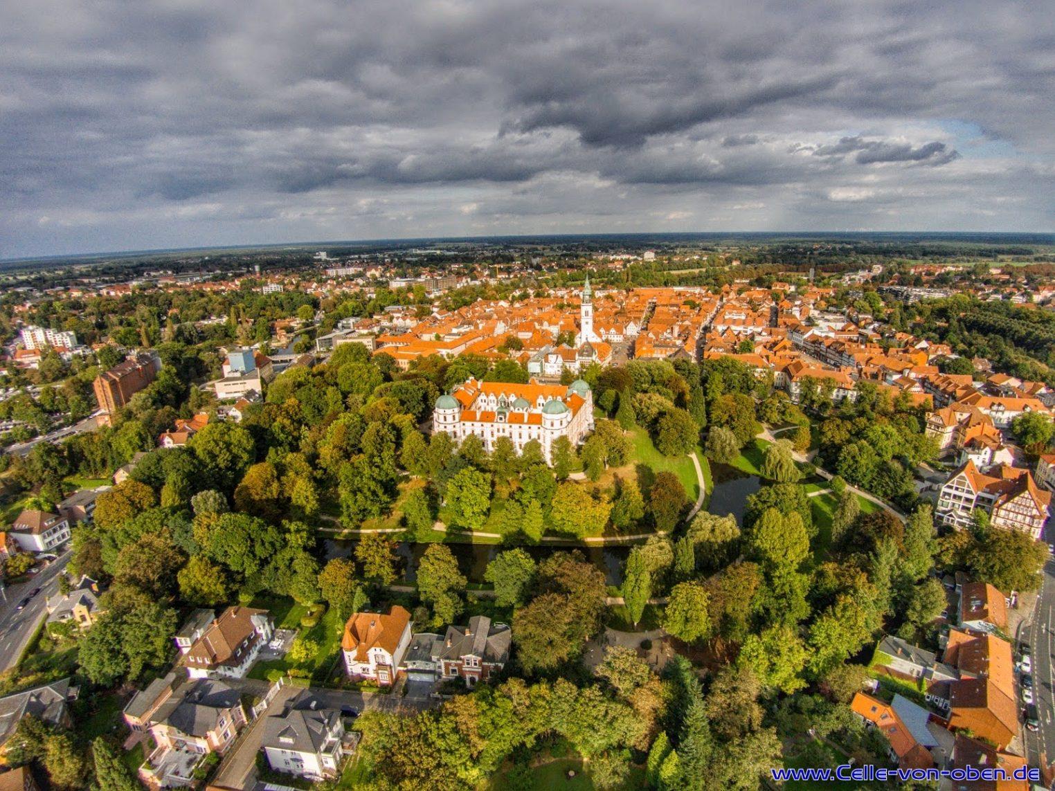 Celler Innenstadt mit Schloß