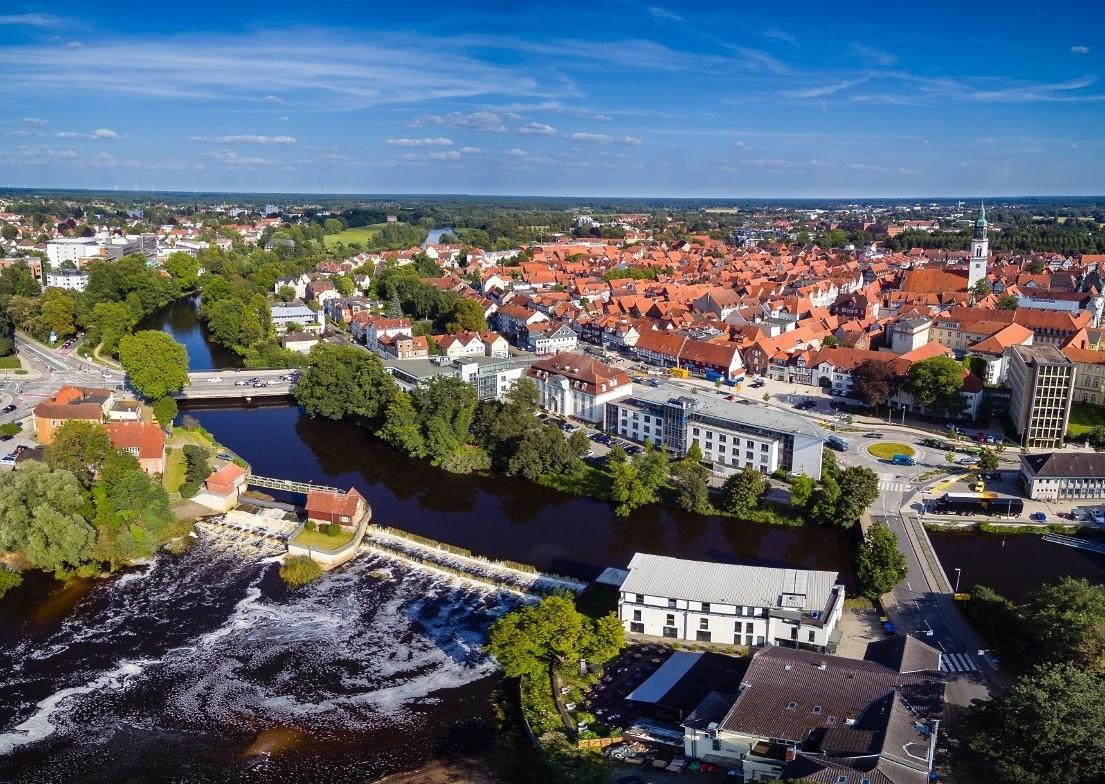 Celle von oben Luftaufnahmen der Residenzstadt Celle (3)