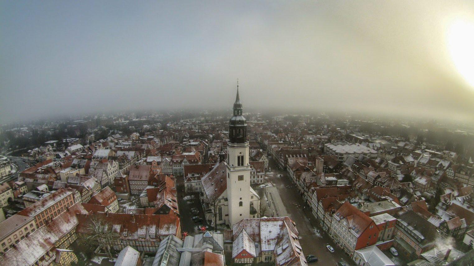Stadtkirche St. Marien im Schnee