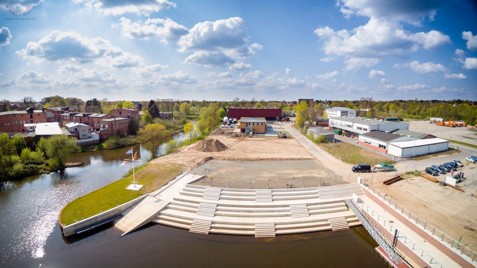 Hafen in Celle – Celle von oben luftbilder