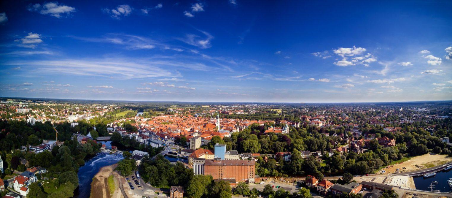 Celle-von-oben Stadtpanorama