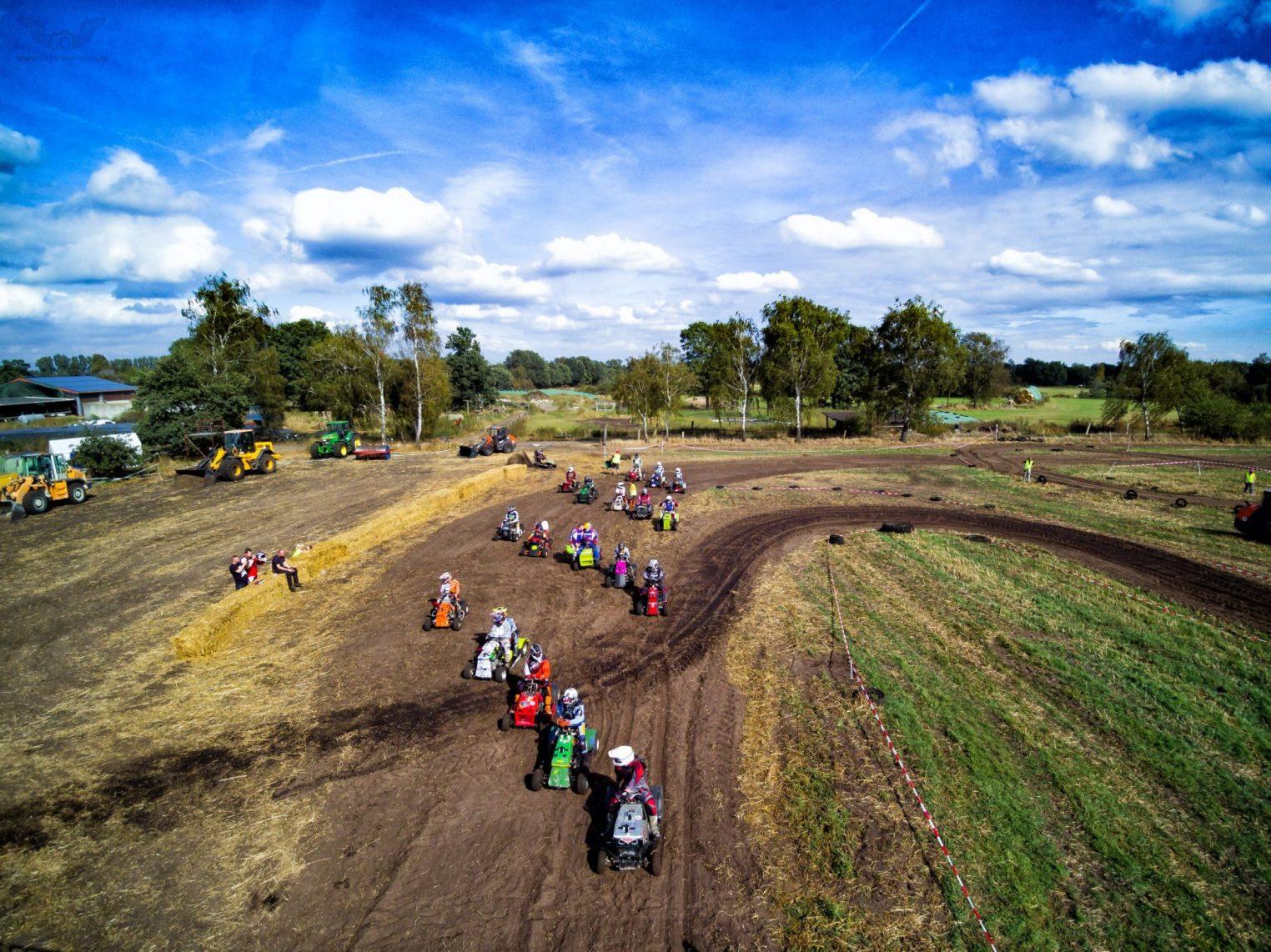 Rennstrecke Moorbock Rennen in Großmoor bei Celle