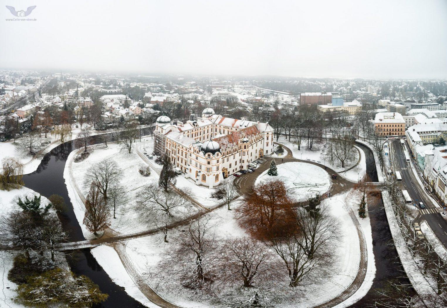 Celler Schloß im Schnee