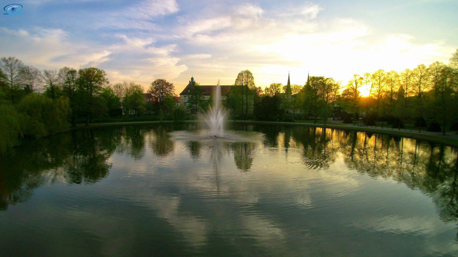 Teich im Franzgarten