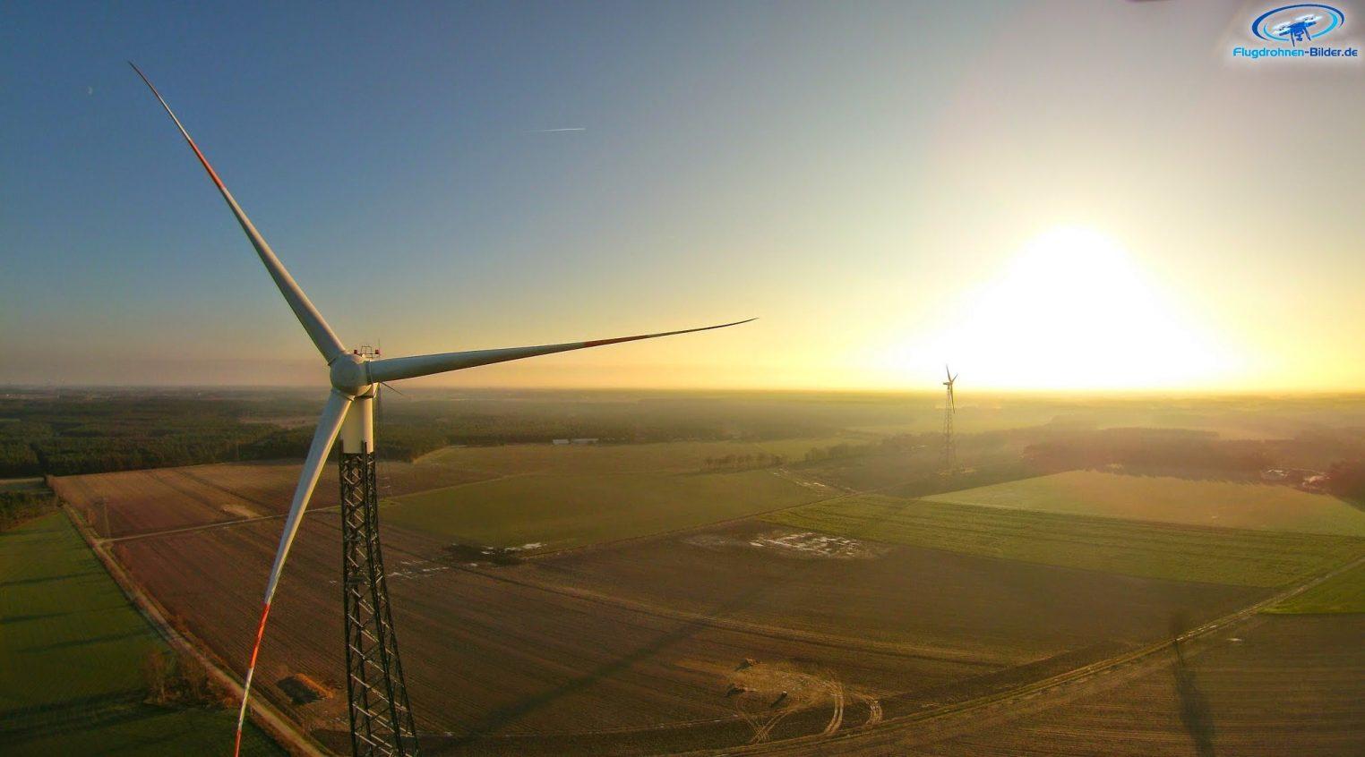 Windräder bei Celle